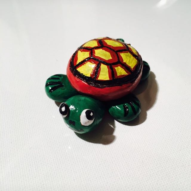 Clay Hand Made Turtle