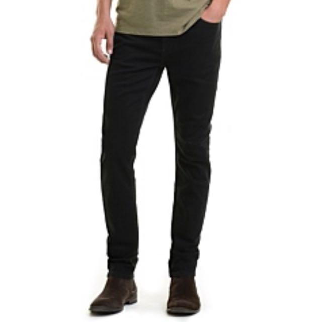 Country Road Slim Tapered Denim Jeans Black 34