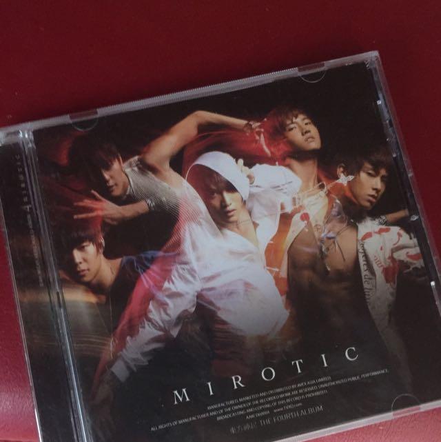 DBSK TVXQ Mirotic The Fourth Album