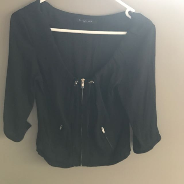 Dollhouse Black Jacket