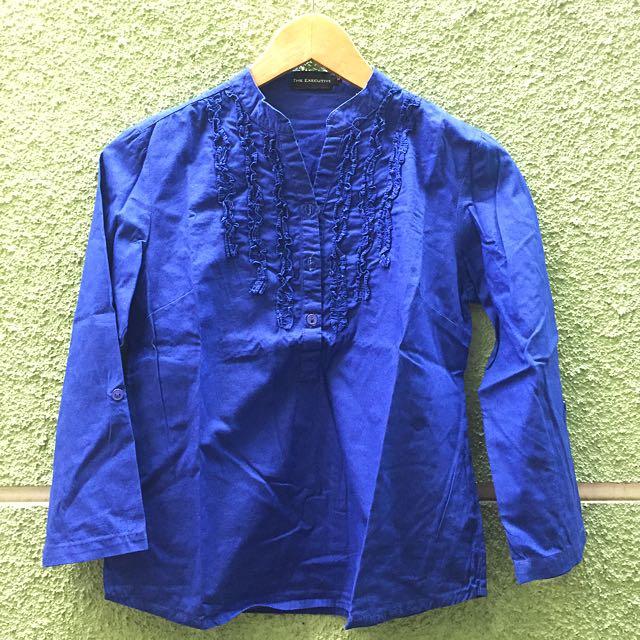 Executive Blue Shirt ( Kemeja Kerja)
