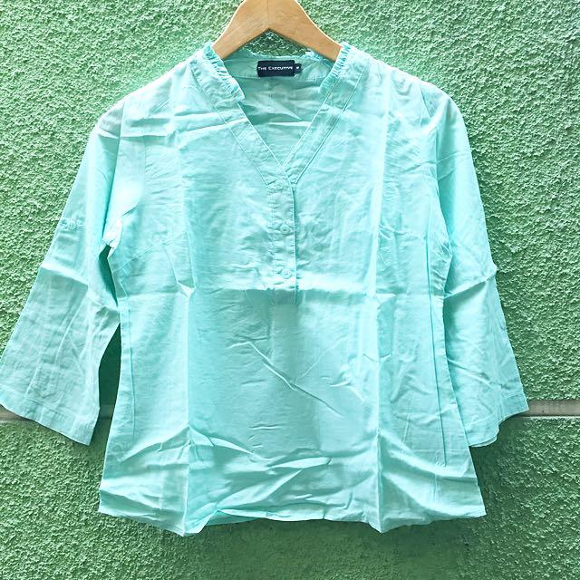 Executive Mint Shirt ( Kemeja Kerja)