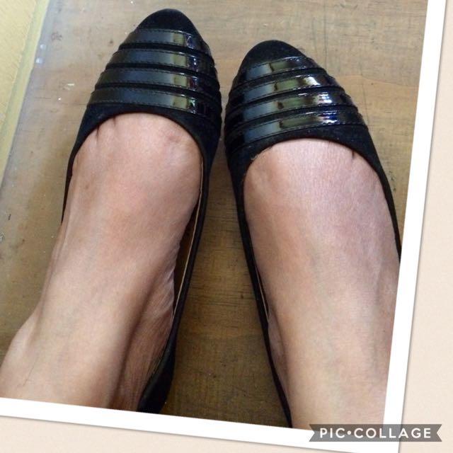 Sale!! Flat Black Shoes