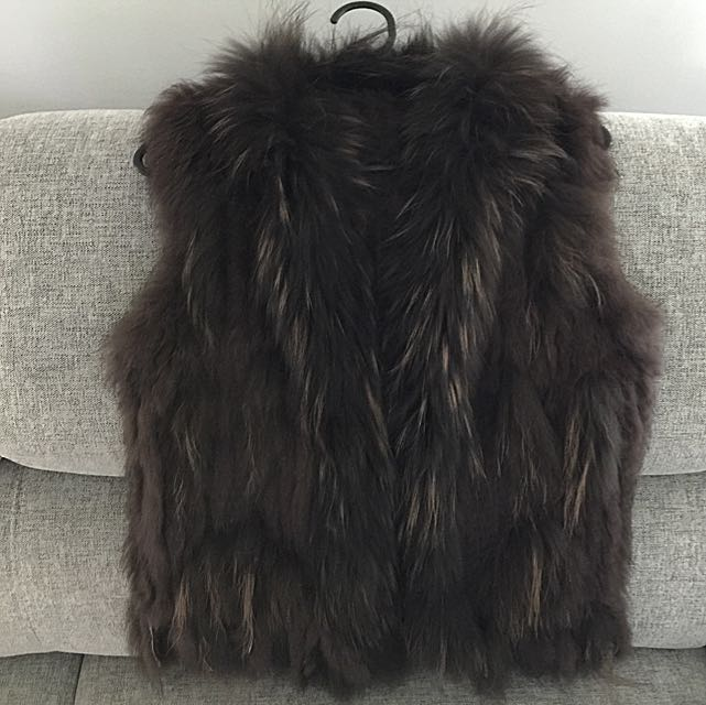 Fur Vest (Real Rabbit Fur)