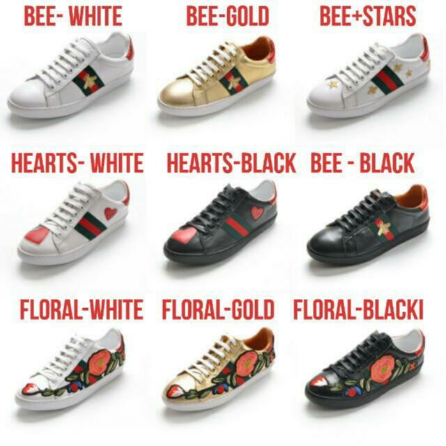 bb69a9a2e05 Gucci Inspired Ace Embroidery Sneakers