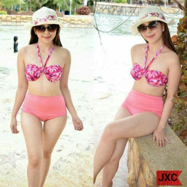 Halter 2-piece swimwear