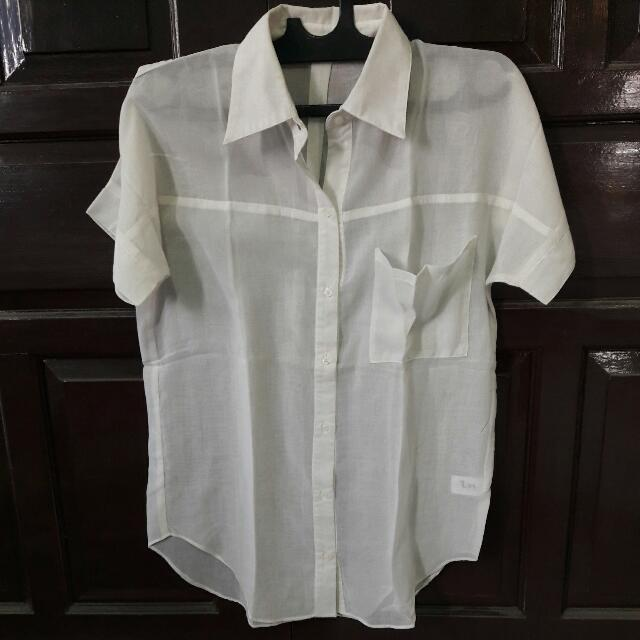 HARDWARE X LUNA MAYA basic white top
