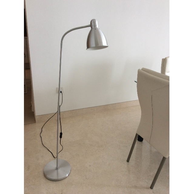 ad5c10a0160e IKEA LERSTA Floor/reading lamp, aluminium on Carousell