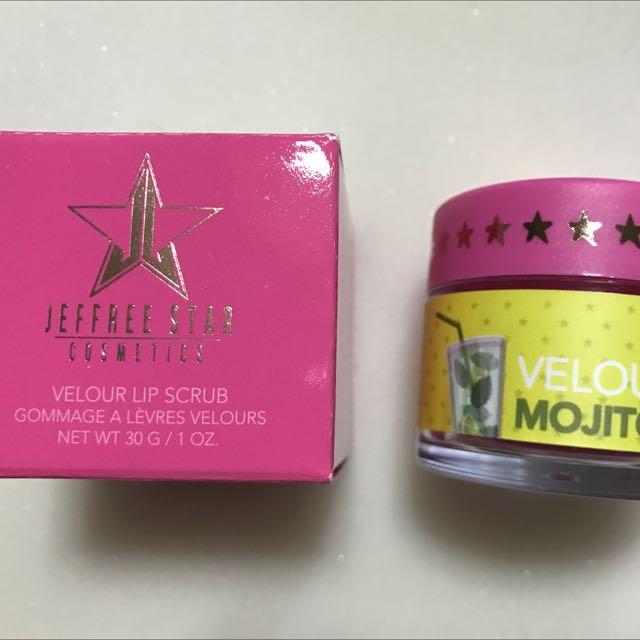 Jeffree Star Lip scrub In mojito