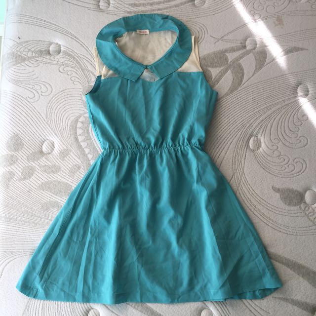 ‼️SALE‼️Jellybean Turquoise Sunday Dress