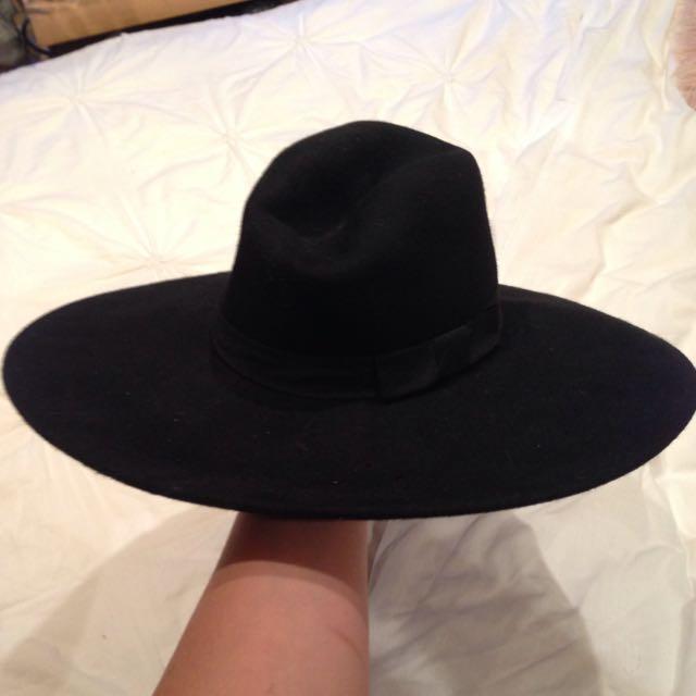 Killstar Wide Brim Witch Hat ad979fa59a7