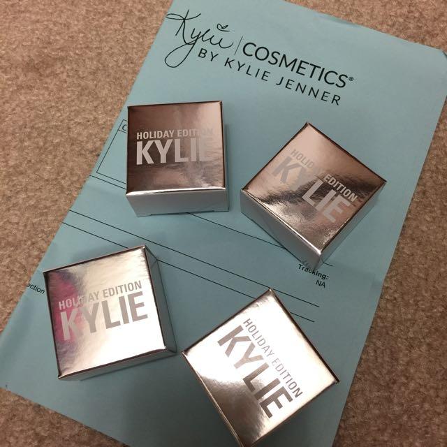 Kyshadows Kylie Holiday Edition