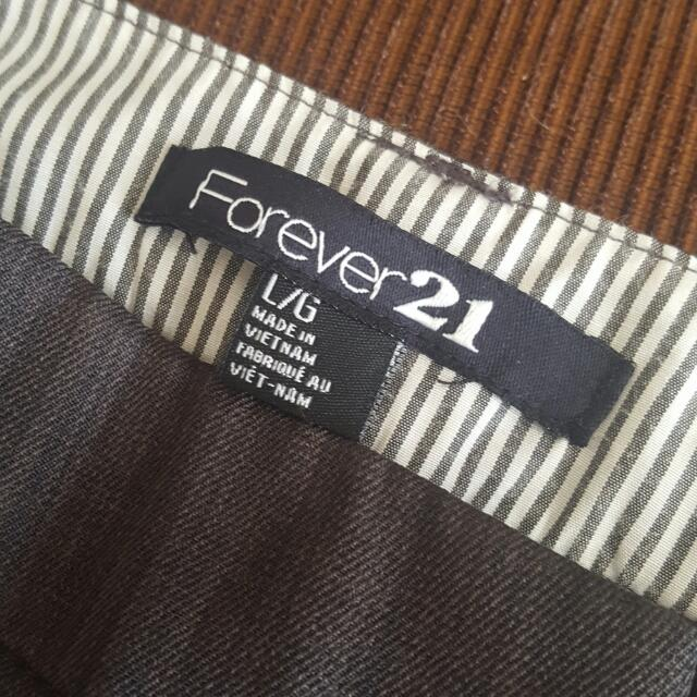 Large Forever 21 Gray slacks