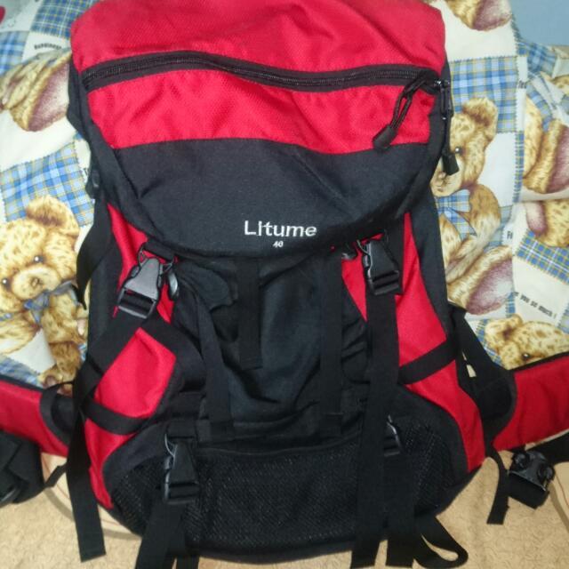 Litume 意都美 40L公升 戶外 登山包 後背包 防水包 突擊包 物超所值 非gregory