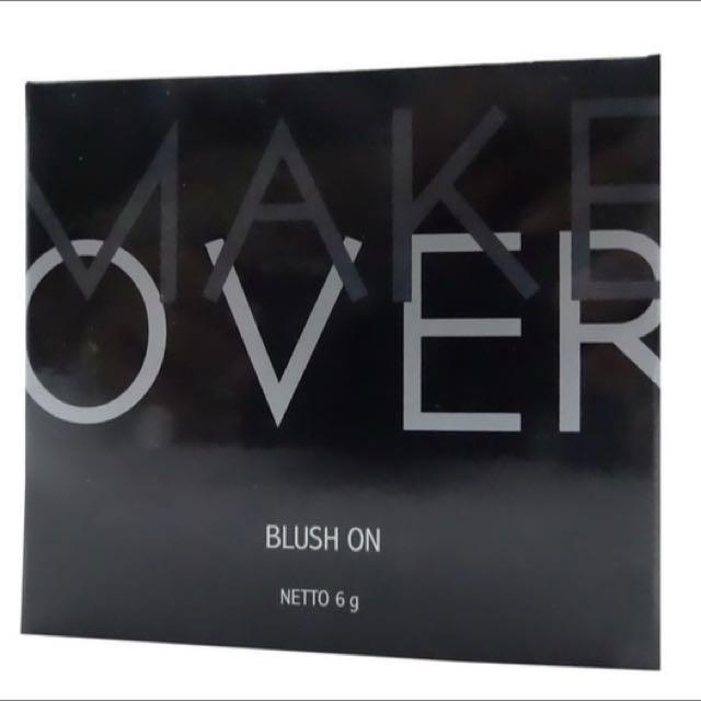 MAKE OVER BLUSH ON SINGLE (01 - Pink Fantasist), Kesehatan & Kecantikan,