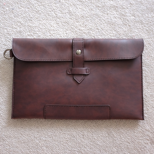 Man's Brown hand bag/pouch/clutch