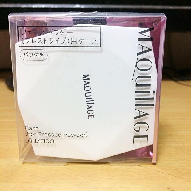 資生堂Maquillage心機粉餅盒(空盒)