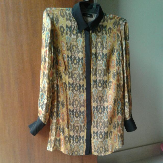 MAX&Co. Tribal Blouse