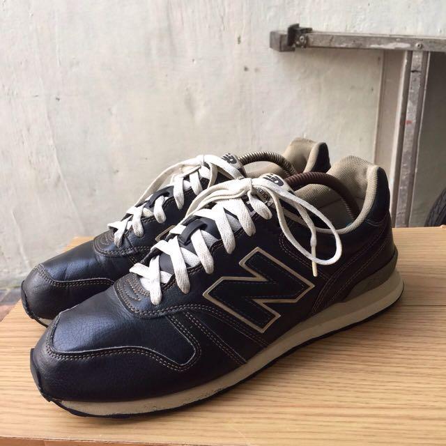 "New Balance 367 black ""leather"""