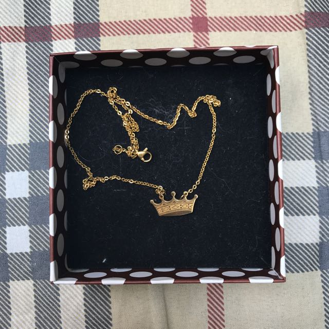 Non-tarnish Gold Necklace
