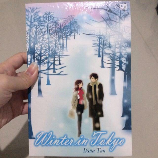 Novel Metropop Winter In Tokyo Illana Tan