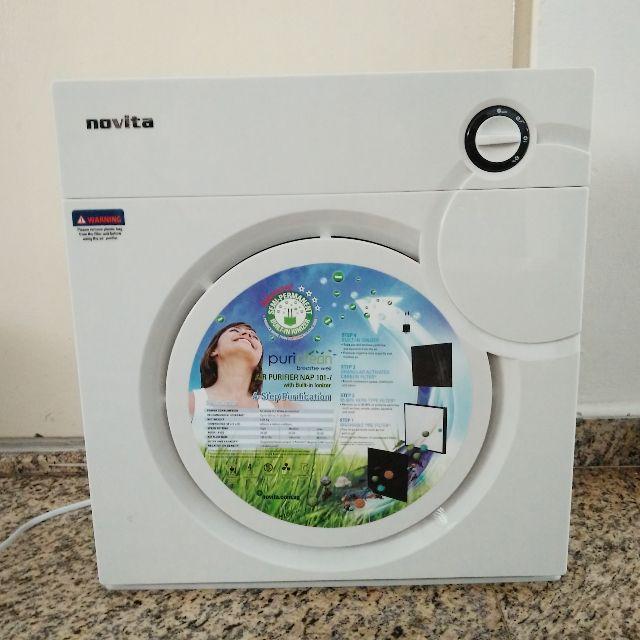 Novita Air Purifier (NAP101i)+ Free Filter pack
