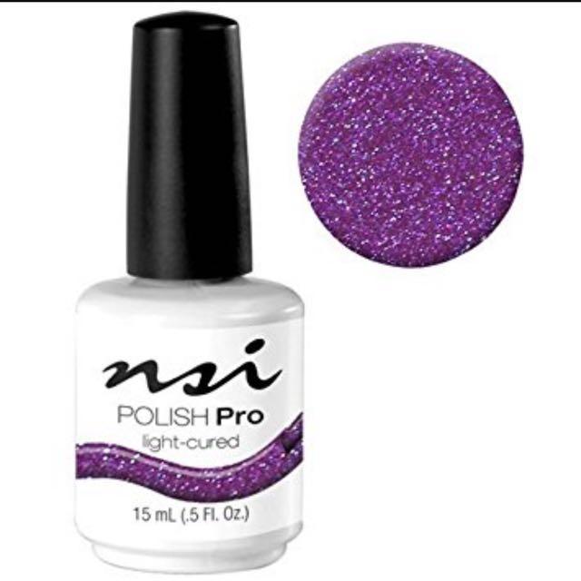 NSI Polish Pro (Gel Nail Polish) Purple Pearl, Health & Beauty, Hand ...