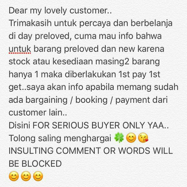 ONLY FOR SERIOUS BUYER