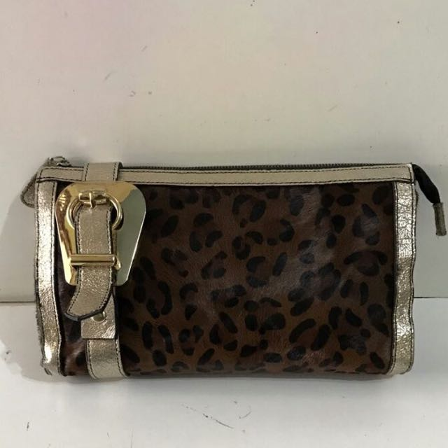 ORI Leather Clutch