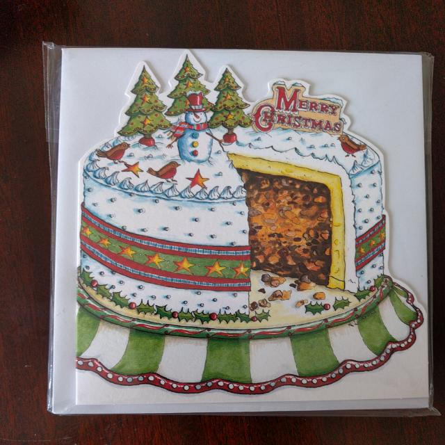 Phoenix Christmas Card Pudding And Funny