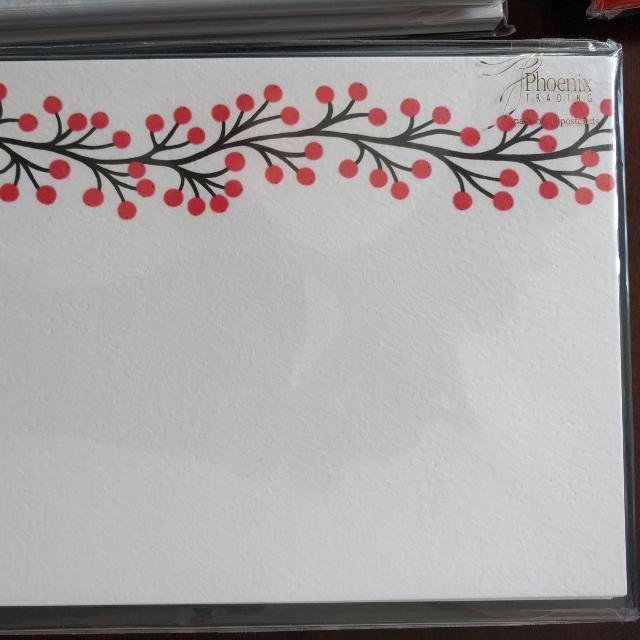 Phoenix Christmas Postcards X 10 - 4 Packs Only