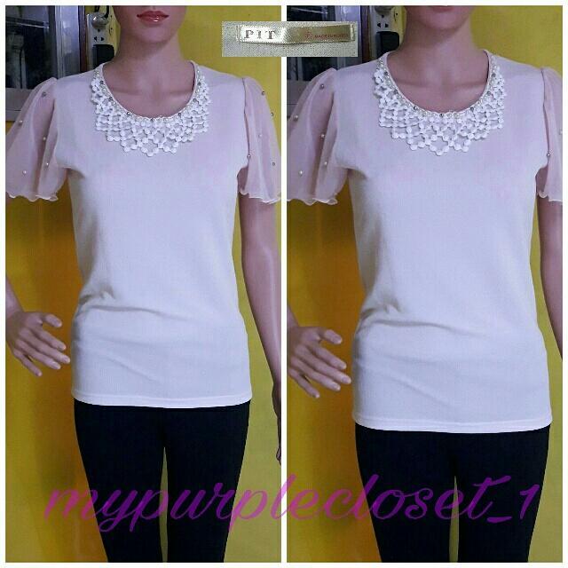 Pit Korean blouse