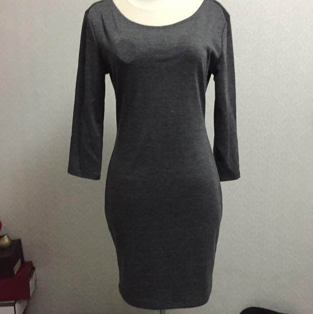 Preloved Bodycon Backless Dress Forever 21