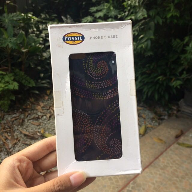 Preloved Fossil Case Iphone 5/5s
