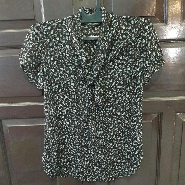 PROSSIMO ribbon flower top