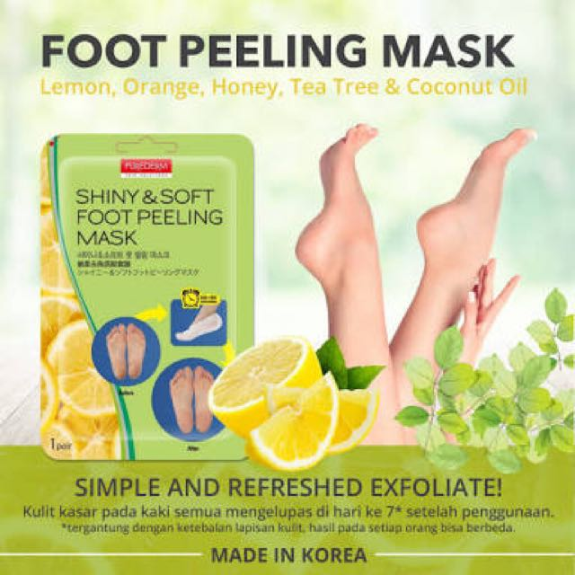 Purederm Foot Peeling Mask Korea