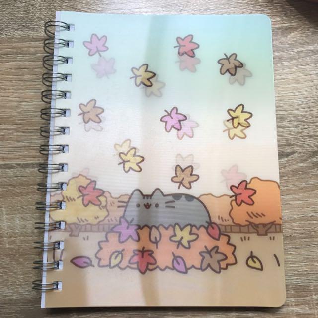 Pusheen Autumn A5 Spiral Bound Notebook