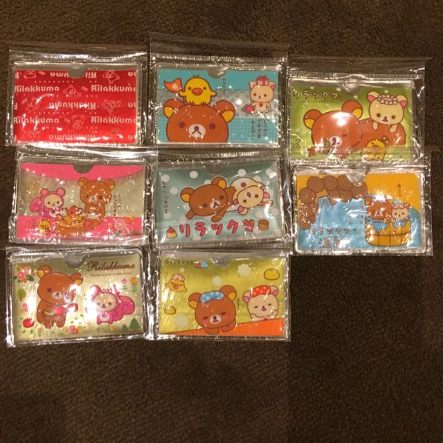 Rilakkuma card holders