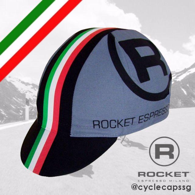 129c10a6a Rocket Espresso Italian Cycling Cap  CLEARANCE