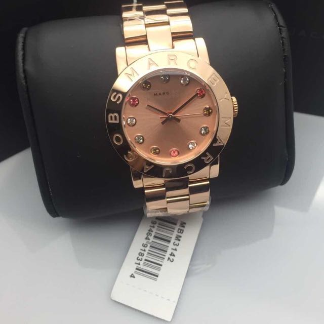 Rose Gold Marc Jacobs Watches