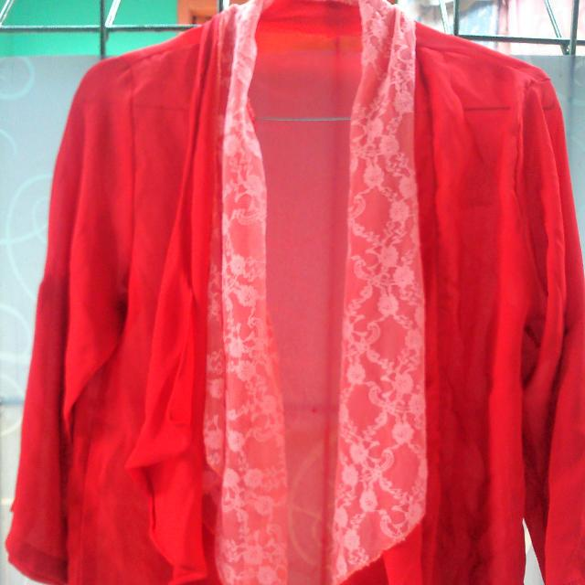 Set Tanktop+outer Red