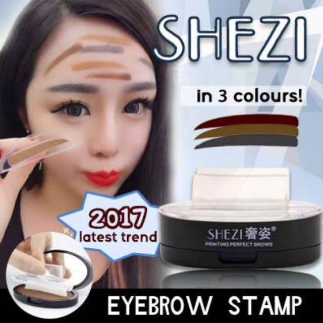 Shezi Eyebrow Stamp In #2 Dark Brow