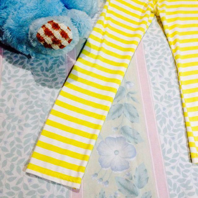Shiny Striped Long Sleeves 💖