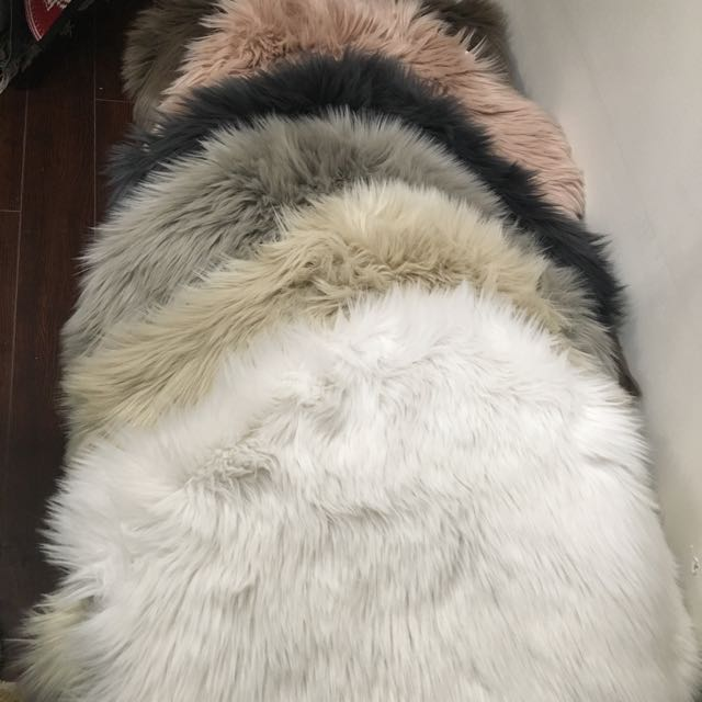 Stunning Luxury Animal Faux Fur Super Soft Area Rugs