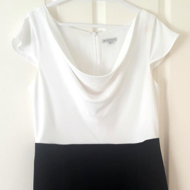 Target Collection Classy Dress 14 (Black White)