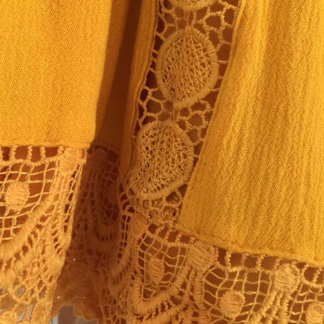 Temt Skirt Size 10 Crochet