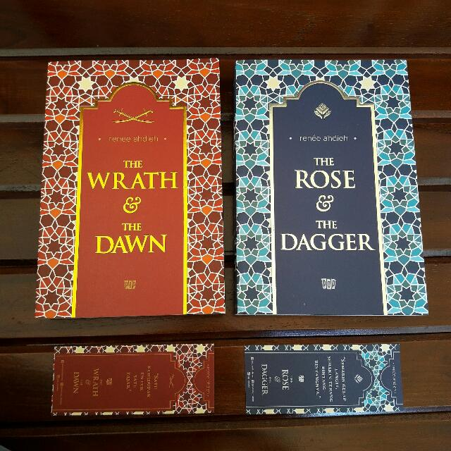 [TIDAK DIJUAL TERPISAH] DUOLOGY The wrath and the dawn #1 & The rose and the dagger #2 by Renee ahdieh