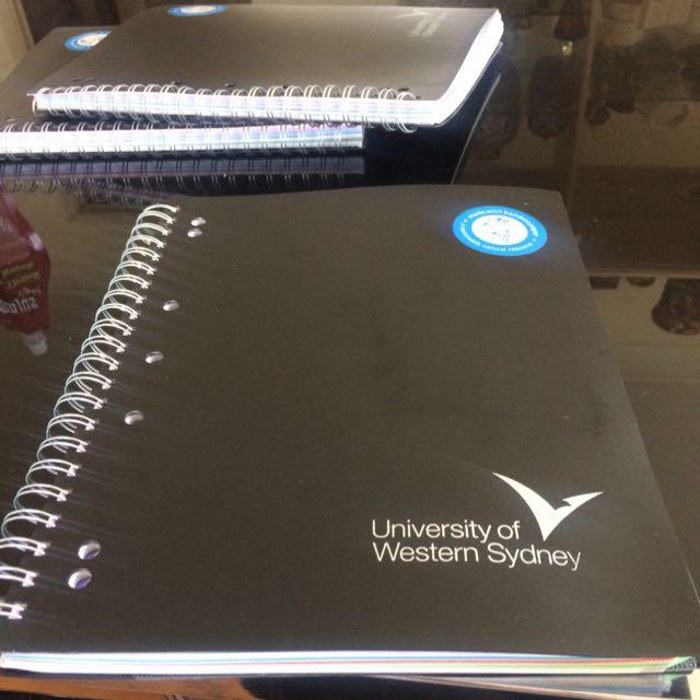 University Of Western Sydney Writing Books