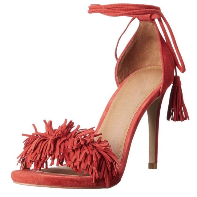 Wild Thing Suede Heel Sandals Aquazzura Look Alike