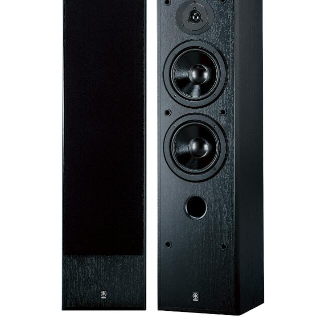 floors and review standing yamaha test ns floor photo speakers